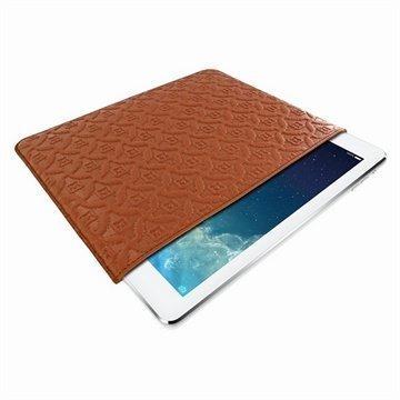 iPad Air Piel Frama Pull Nahkakotelo Ruskea