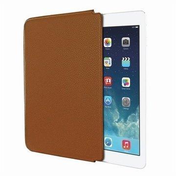 iPad Air Piel Frama Unipur Nahkakotelo Keltaisenruskea