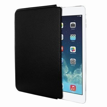 iPad Air Piel Frama Unipur Nahkakotelo Musta