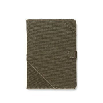 iPad Air Zenus Cambridge Diary Case Khaki