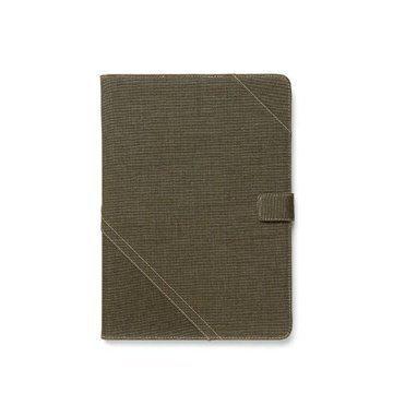 iPad Air Zenus Cambridge Diary Case Khaki