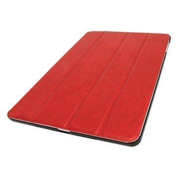 iPad Air iGadgitz Mate Plus Nahkakotelo Punainen
