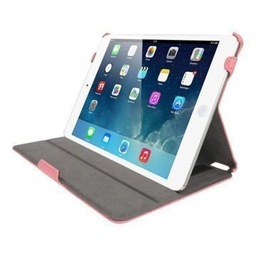 iPad Air iGadgitz Nahkakotelo Pinkki