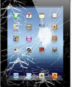 iPad Mini 2 hajonneen etulasin ja kosketuspaneelin vaihto