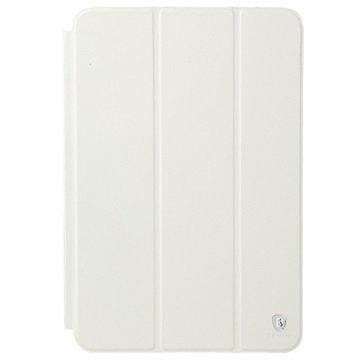iPad Mini 2 iPad Mini 3 Baseus Primary Color Series Smart Kotelo Valkoinen