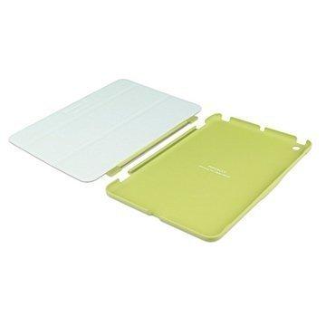 iPad Mini 2 iPad Mini 3 Macally Covermate Läpällinen Nahkakotelo Vihreä