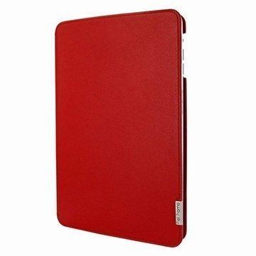 iPad Mini 2 iPad Mini 3 Piel Frama FramaSlim Nahkakotelo Punainen