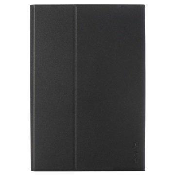 iPad Mini 2 iPad Mini 3 Rock Bluetooth Näppäimistö & Smart Kotelo Tummanharmaa