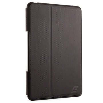 iPad Mini 3 Element Case Soft-Tec Pro Folio Kotelo Musta / Punainen