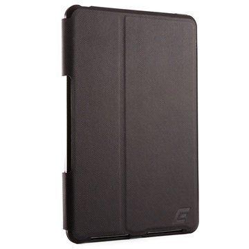 iPad Mini 3 Element Case Soft-Tec Pro Folio Kotelo Musta / Punainen