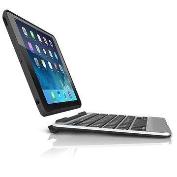iPad Mini 3 Zagg Slim Book Bluetooth Näppäimistö / Irrotettava Kotelo Musta