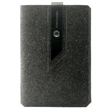 iPad Mini 3 iPad Mini 4 Charbonize Suojapussi Hiilenharmaa