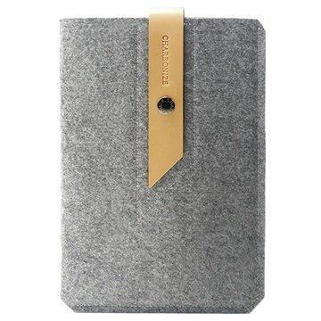 iPad Mini 3 iPad Mini 4 Charbonize Suojapussi Vaaleanharmaa