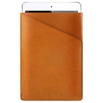 iPad Mini 3 iPad Mini 4 Mujjo Slim Fit Sleeve Nahkakotelo Keltaisenruskea