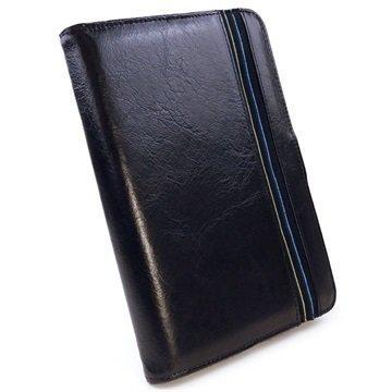 iPad Mini 4 Alston Craig Nahkakotelo Musta