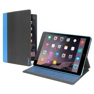 iPad Mini 4 Cygnett Tekshell Slim Folio Kotelo Musta / Sininen