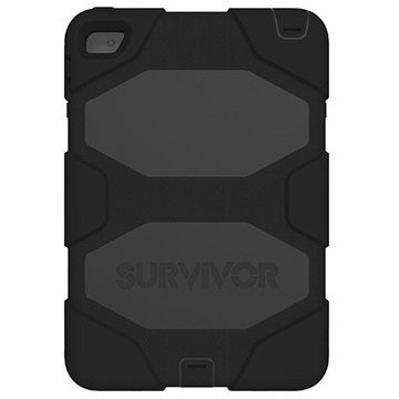 iPad Mini 4 Griffin Survivor All-Terrain Suojakotelo Musta