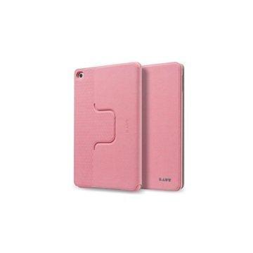 iPad Mini 4 Laut R-Evolve Pyörivä Smart Folio Kotelo Vaaleanpunainen