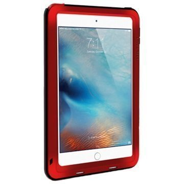 iPad Mini 4 Love Mei Powerful Hybrid Suojakuori Punainen