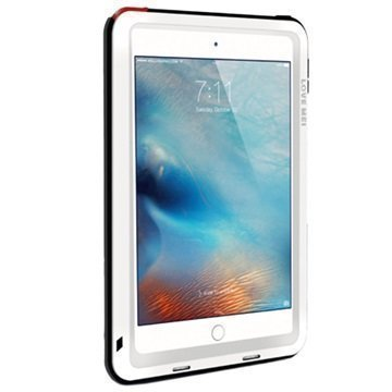iPad Mini 4 Love Mei Powerful Hybrid Suojakuori Valkoinen