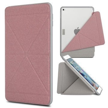 iPad Mini 4 Moshi VersaCover Smart Läppäkotelo Pinkki