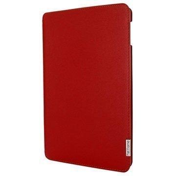 iPad Mini 4 Piel Frama FramaSlim Nahkakotelo Punainen