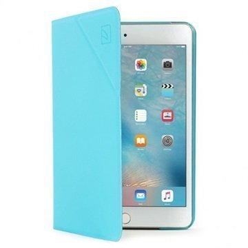 iPad Mini 4 Tucano Angolo Foliokotelo Sininen