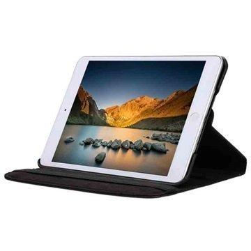 iPad Mini 4 Tuff-luv Pyörivä Kotelo Musta