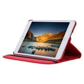 iPad Mini 4 Tuff-luv Pyörivä Kotelo Punainen