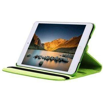 iPad Mini 4 Tuff-luv Pyörivä Kotelo Vihreä