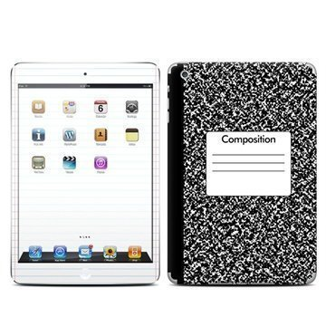 iPad Mini Composition Notebook Skin