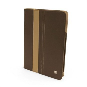 iPad Mini Cool Bananas SmartGuy Book Leather Case Chocolate