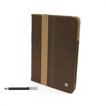 iPad Mini CoolBananas SmartGuy Bamboo Pen Nahkakotelo Suklaa