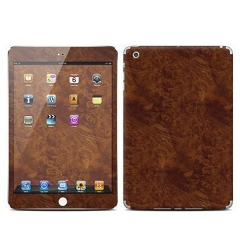 iPad Mini Dark Burlwood Skin