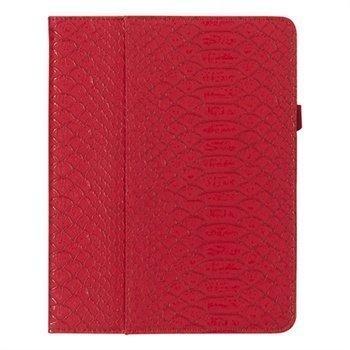 iPad Mini Griffin Moxy Python Keinonahkakotelo Tummanpunainen/Kulta