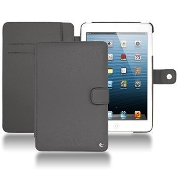 iPad Mini Noreve Tradition Wallet Nahkakotelo  Antrasiitti