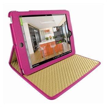 iPad Mini Piel Frama Cinema Nahkakotelo Fuksia