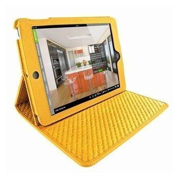 iPad Mini Piel Frama Cinema Nahkakotelo Keltainen