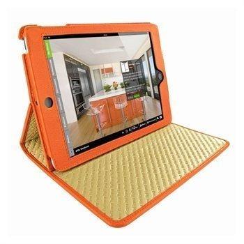 iPad Mini Piel Frama Cinema Nahkakotelo Oranssi