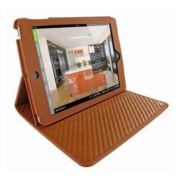 iPad Mini Piel Frama Cinema Nahkakotelo Ruskea