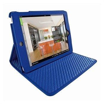 iPad Mini Piel Frama Cinema Nahkakotelo Tummansininen
