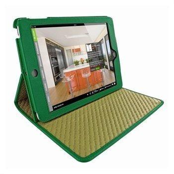 iPad Mini Piel Frama Cinema Nahkakotelo Tummanvihreä