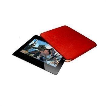 iPad Mini Piel Frama Unipur Nahkakotelo Punainen