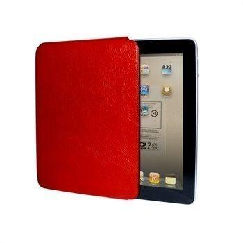 iPad Piel Frama Unipur Nahkakotelo Punainen