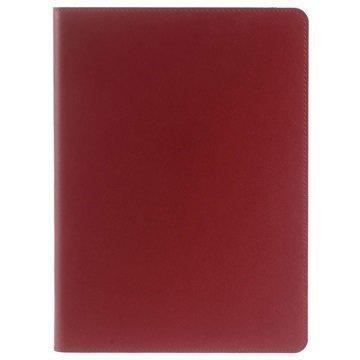 iPad Pro 9.7 Doormoon Smart Folio Nahkakotelo Punainen