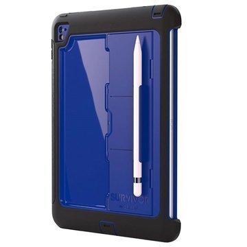 iPad Pro 9.7 Griffin Survivor Slim Suojakuori Musta / Sininen