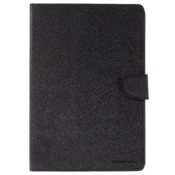 iPad Pro 9.7 Mercury Goospery Fancy Diary Folio Kotelo Musta