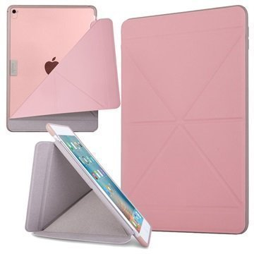 iPad Pro 9.7 Moshi VersaCover Kotelo Pinkki