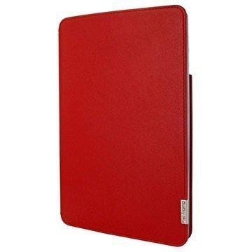 iPad Pro 9.7 Piel Frama FramaSlim Nahkakotelo Punainen