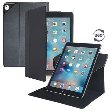 iPad Pro 9.7 Tucano Giro Pyörivä Suojakotelo Musta
